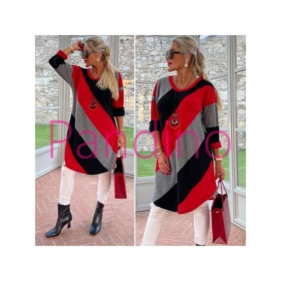 Nádherný dlouhý luxuska svetřík