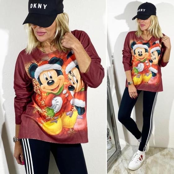 Nádherná vánoční tunika Mickey