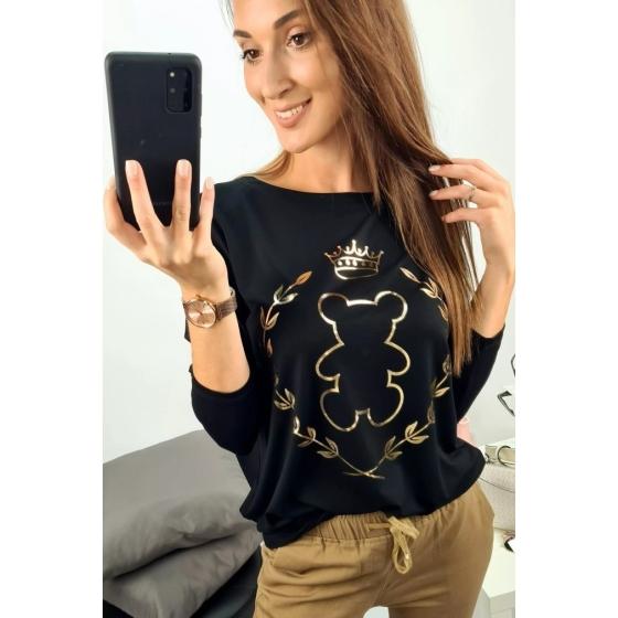 Strečové triko méďa